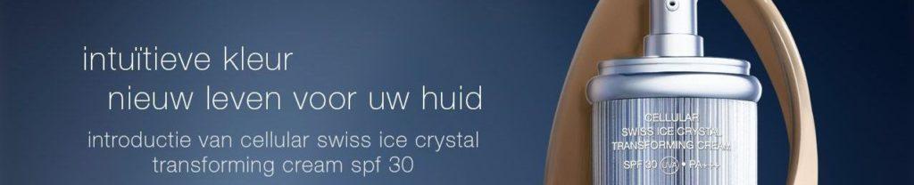 Cellular Swiss Ice Crystal SPF 30 La Prairie Transforming Cream | Soest Baarn laren Hilversum Amersfoort