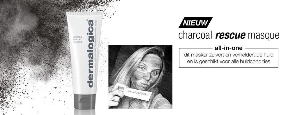 Charcoal rescue masque | Dermalogica houtskool kool masker