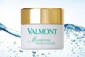 Hydraterend masker | Valmont | Moisturizing with a mask