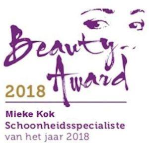 Mieke Kok | Schoonheidsspecialiste van het jaar 2018 | Beauty Award 2018