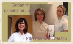 Team The Art of Skincare | Mieke Kok, Elly Schilte, Megan van Hattum