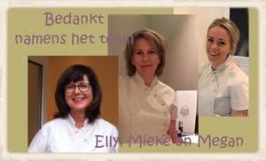 Team The Art of Skincare   Mieke Kok, Elly Schilte, Megan van Hattum