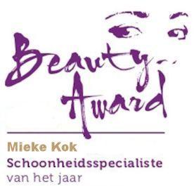 Beauty Award | Mieke Kok | Schoonheidsspecialiste van het jaar 2018
