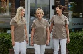 Team The art of skincare Soest | Megan, Mieke en Elly