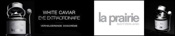 La Prairie nieuwe oogcrème White Caviar Eye Extraordinaire Nu te koop bij The art of skincare