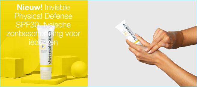 Dermalogica bestellen Invisible Physical Defense SPF 30 zonbescherming