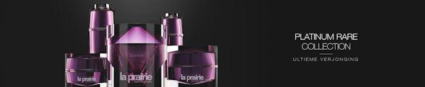 La Prairie Nieuw Platinum Rare Collection ultieme verjonging nu te koop bij The art of skincare